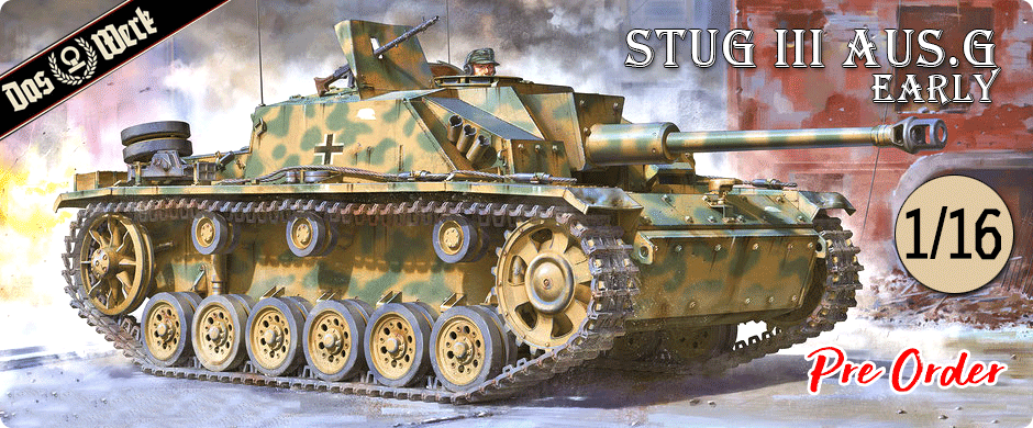 1/16 StuG III Aus.G Early SdKfz. 142