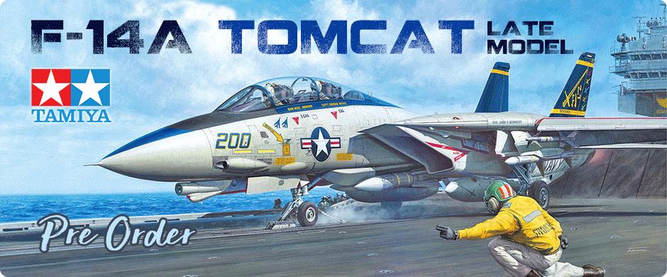 1/48 Grumman F-14A Tomcat (Late Model) Carrier Launch